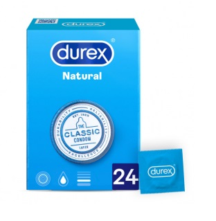 Durex Natural Plus Easy On  24 unidades