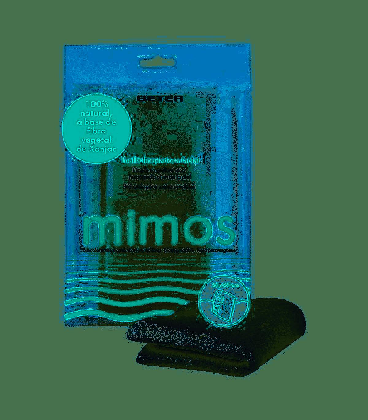 Beter Mimos Toalla Limpiadora Facial Konjac