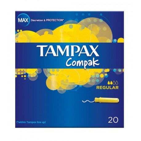 Tampax Compak Regular  Tampones 20 unidades