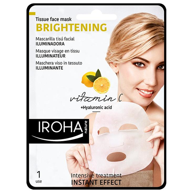 Iroha Mascarilla Iluminadora Tissue Vitamina C