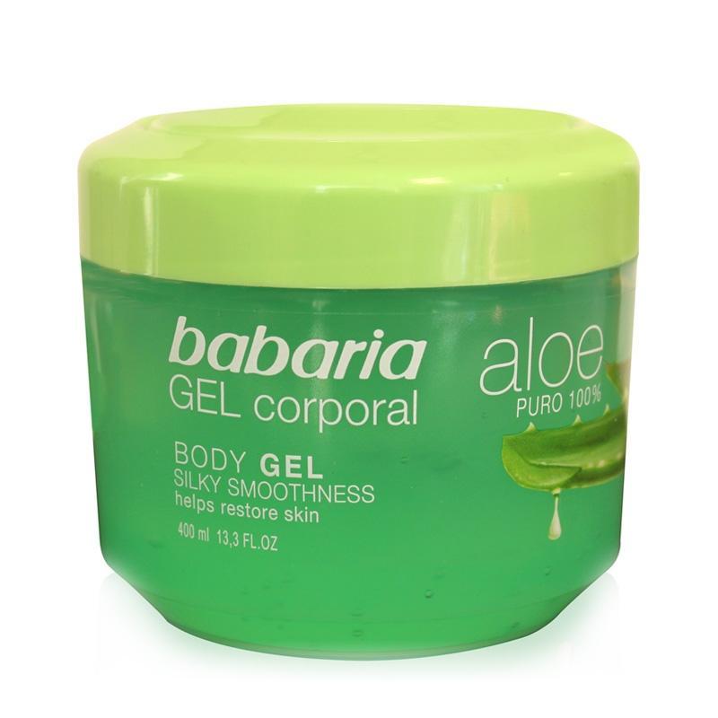 Babaria Gel Corporal Aloe Puro  400 ml