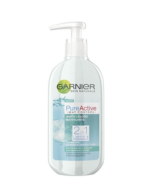 Garnier Skin Active Pure Jabón Líquido  200 ml