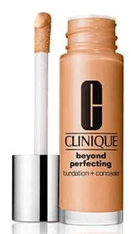 CLINIQUE BEYOND PERFECTING FONDATION + CONCEALER   Base de maquillaje y corrector de ojeras ligero e hidratante Mate-natural