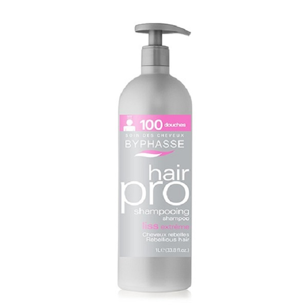 Byphasse Hair Pro Liss Extreme Champú Cabello Rebelde  1 l