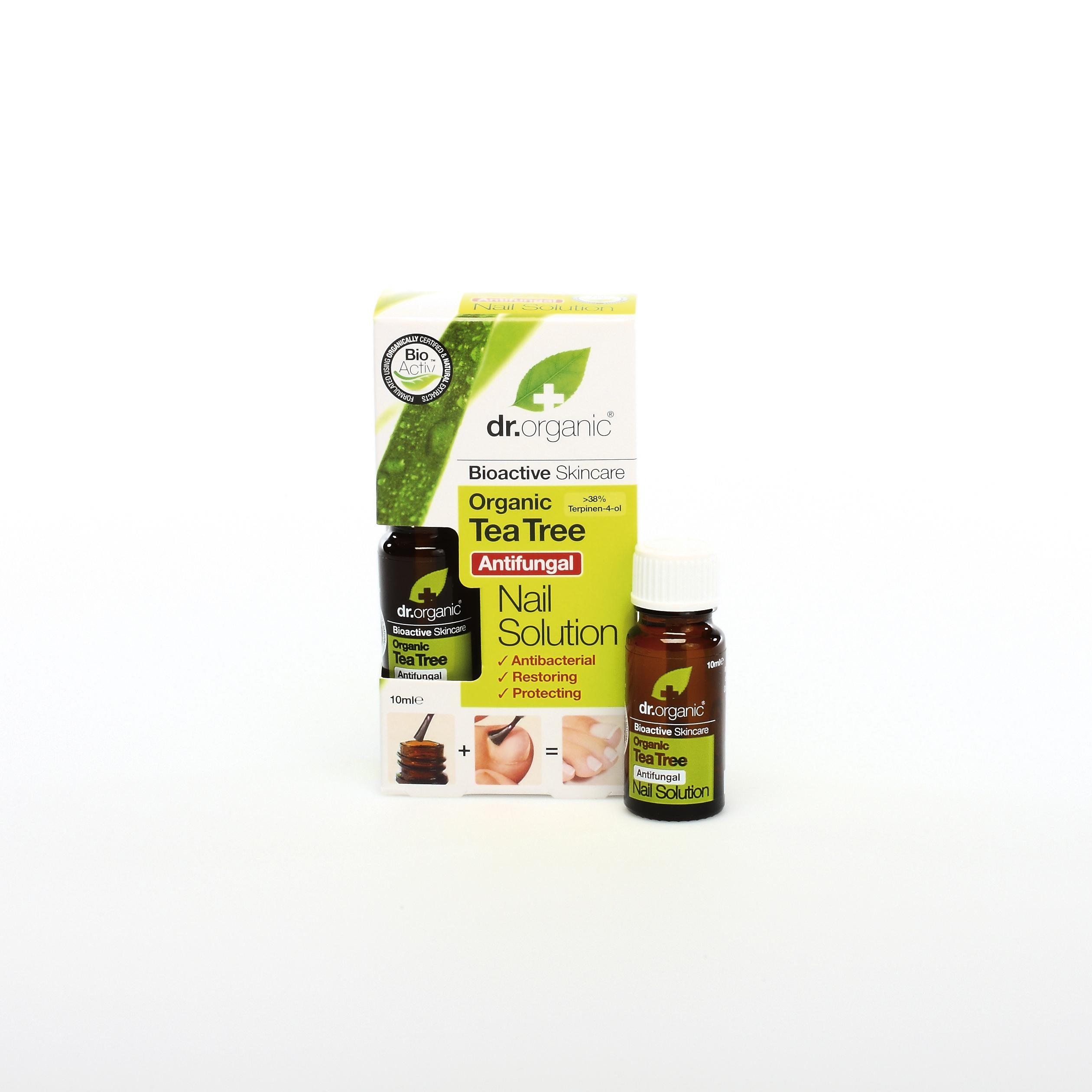 Dr. Organic Solución para Uñas de Árbol de Té