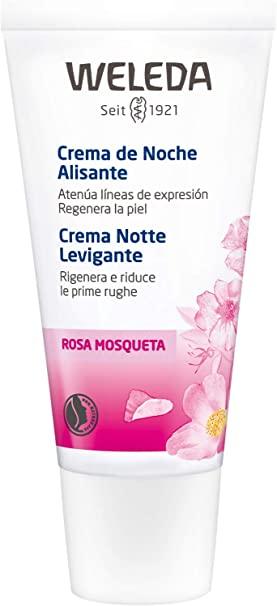 Weleda Crema Alisante de Noche Rosa Mosqueta  30 ml