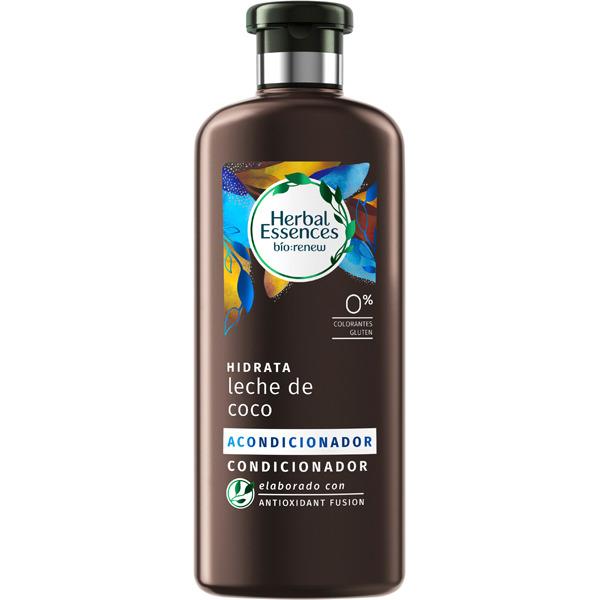 Herbal Essences Acondicionador Hidratante Leche de Coco  400 ml