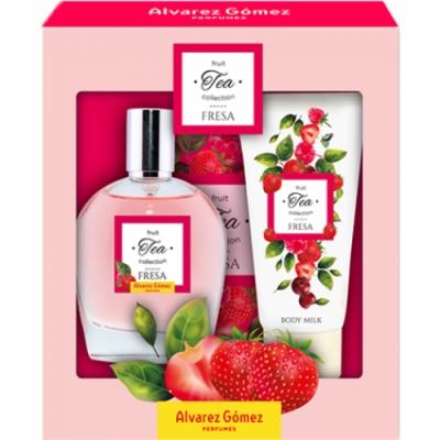 Alvarez Gomez Fruit Tea Fresa  100ML + BM 150ML