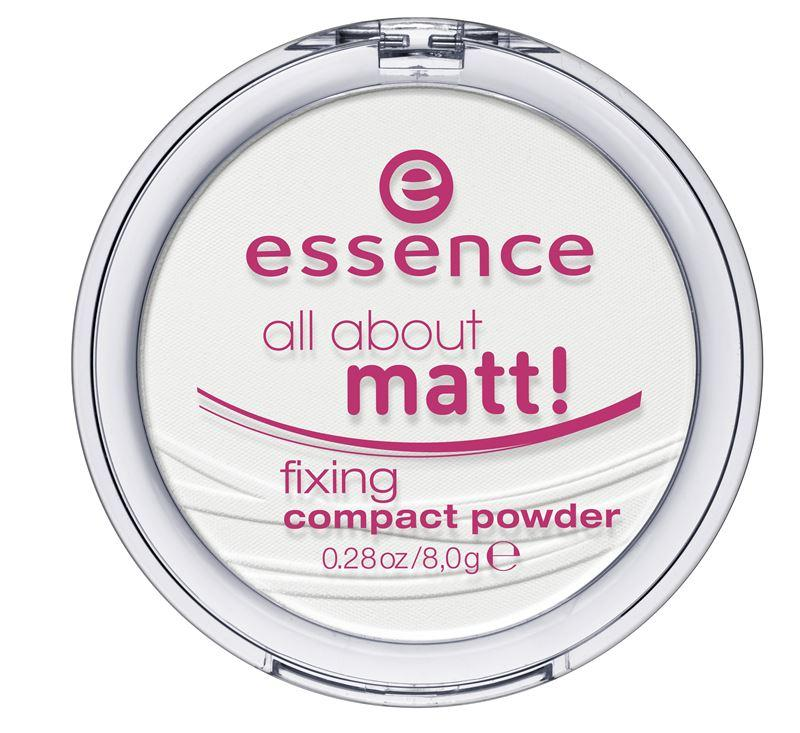 Essence All About Matt! Polvos Compactos Fijadores