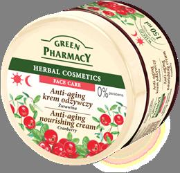 Green Pharmacy Crema Anti-Envejecimiento Nutritiva Arándano Rojo