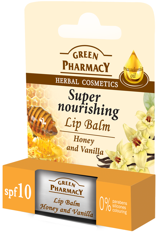 Green Pharmacy Bálsamo Labial Miel y Vainilla