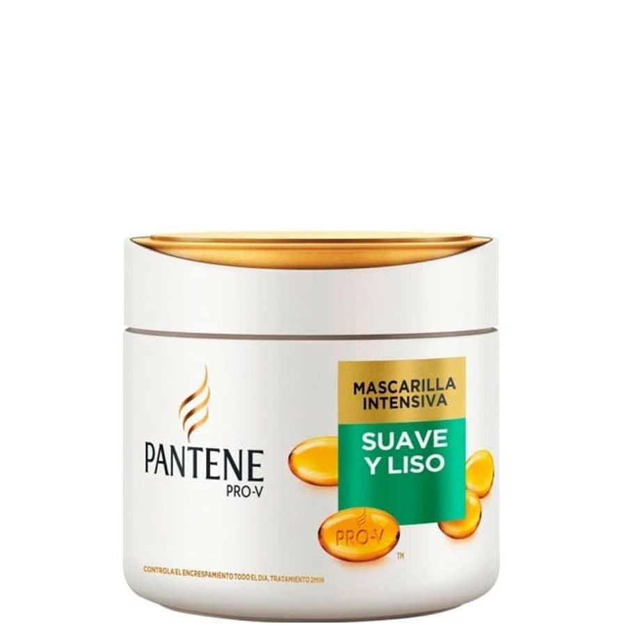 Pantene Mascarilla Suave y Liso Duplo  300 ml
