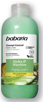 BABARIA CHAMPÚ ESENCIAL HYDRA & NUTRIVE  500 ML