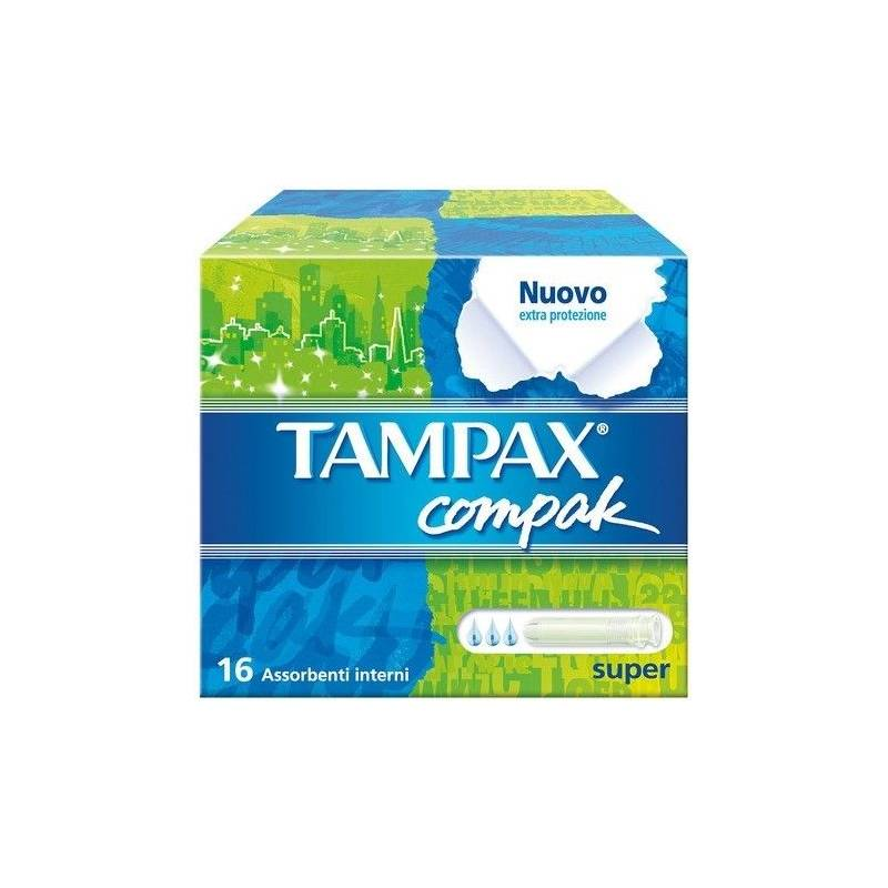Tampax Compak Super  Tampones 20 unidades