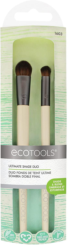 Ecotools Duo Brochas Sombra de Ojos