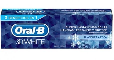 Oral-B 3D White Blancura Ártica  75 ml