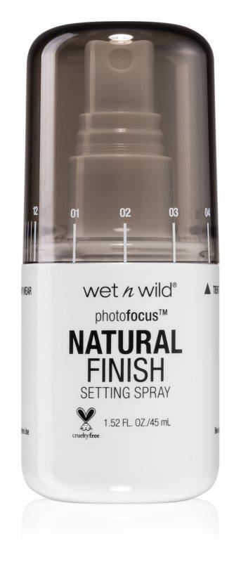 Wet n Wild Photo Focus Setting Spray-Natural Finish  Spray fijador de maquillaje
