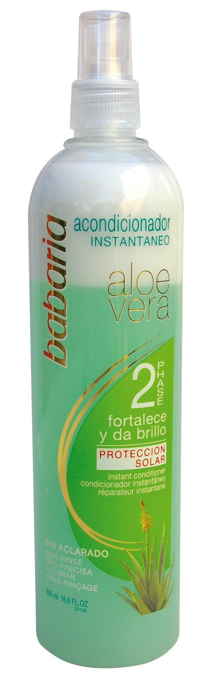 Babaria Acondicionador Bifásico Aloe  500 ml