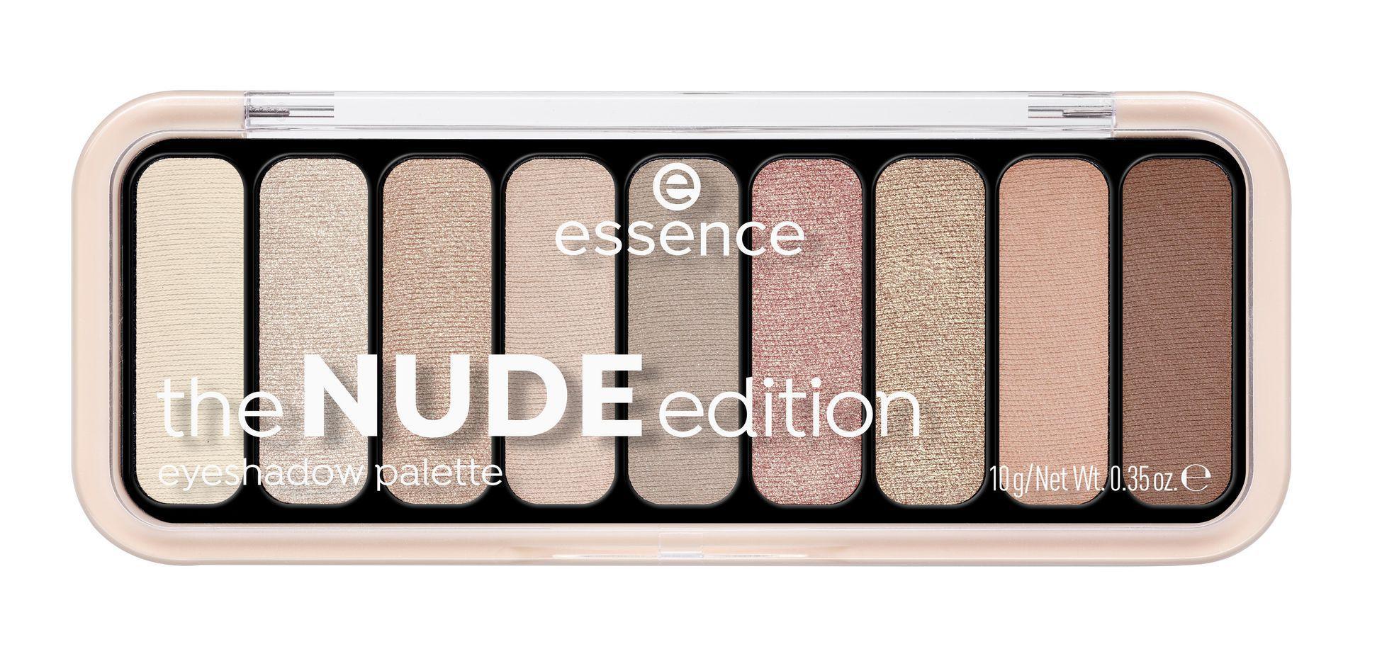 Essence The Nude Edition Paleta de Sombras
