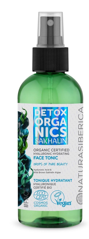 NATURA SIBERICA DETOX TÓNICO FACIAL HIDRATANTE  En Spray 170 ml