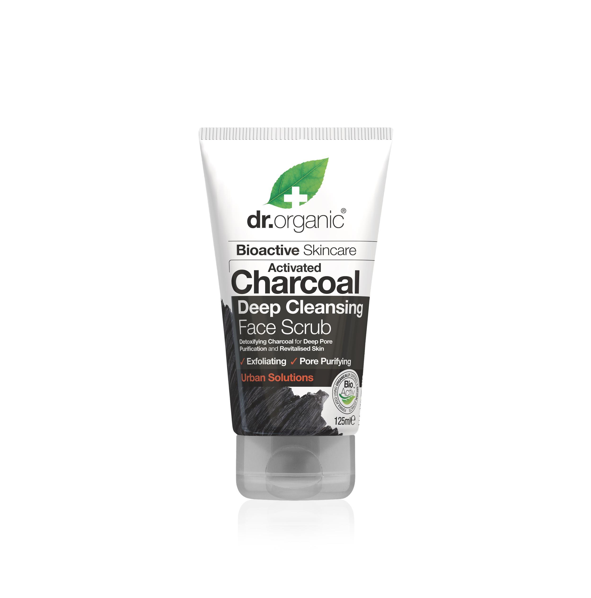 Dr. Organic Exfoliante Facial de Carbón