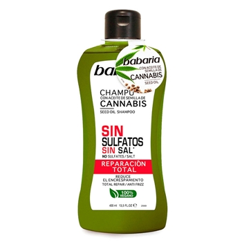 Babaria Champú Cannabis Reparación Total  400 ml