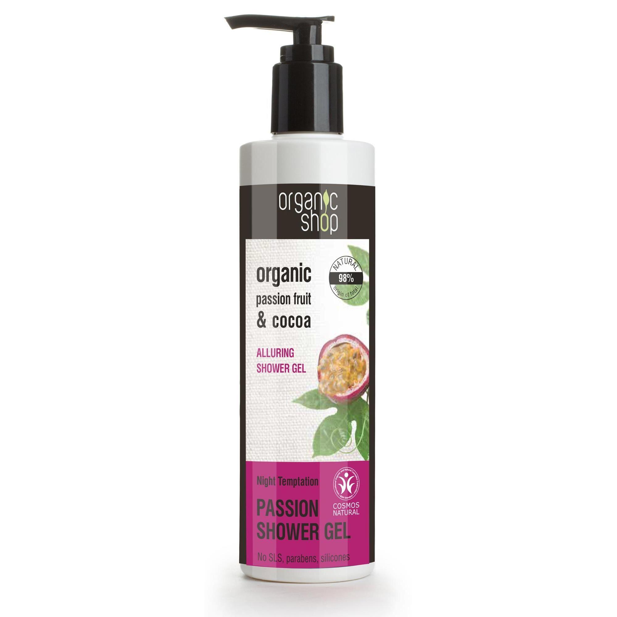 Organic Shop Gel de ducha seductor Tentación de la noche