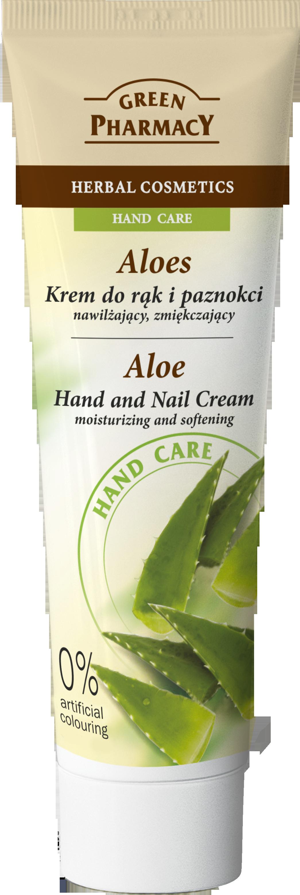 Green Pharmacy Crema Manos y Uñas Aloe Vera