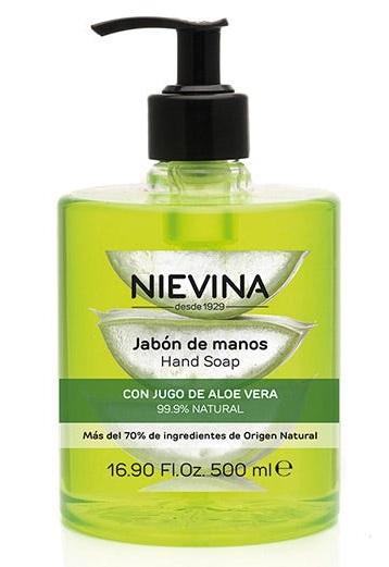 Nievina Jabón de manos con dosificador Aloe Vera  500 ml