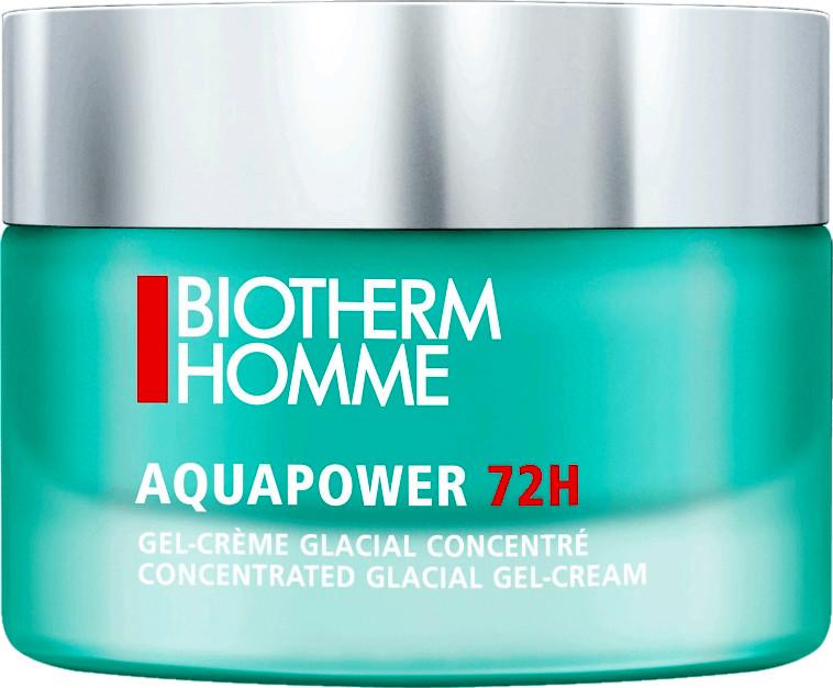 Biotherm Homme Aquapower Fluido Gel Glacial 72H  50 ml