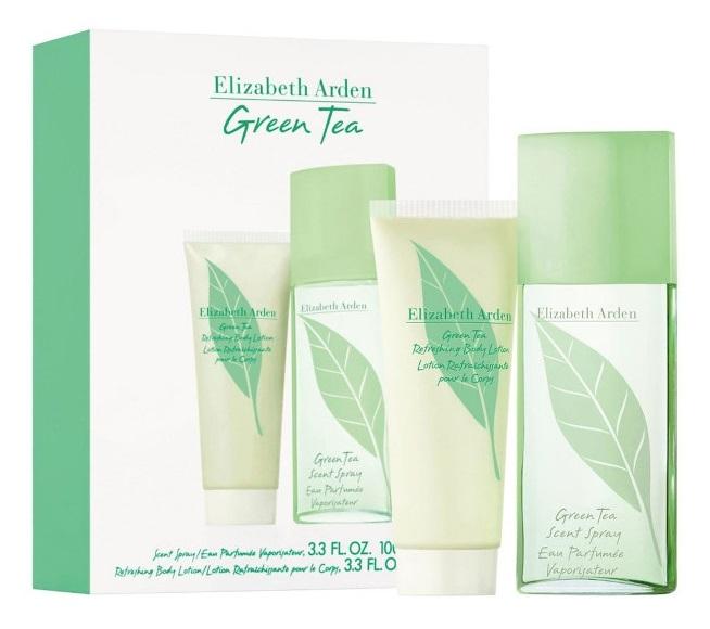 Elizabeth Arden Green Tea Estuche  Scent Eau Parfumeé 100 ml + Nectar au Miel Loción 100 ml