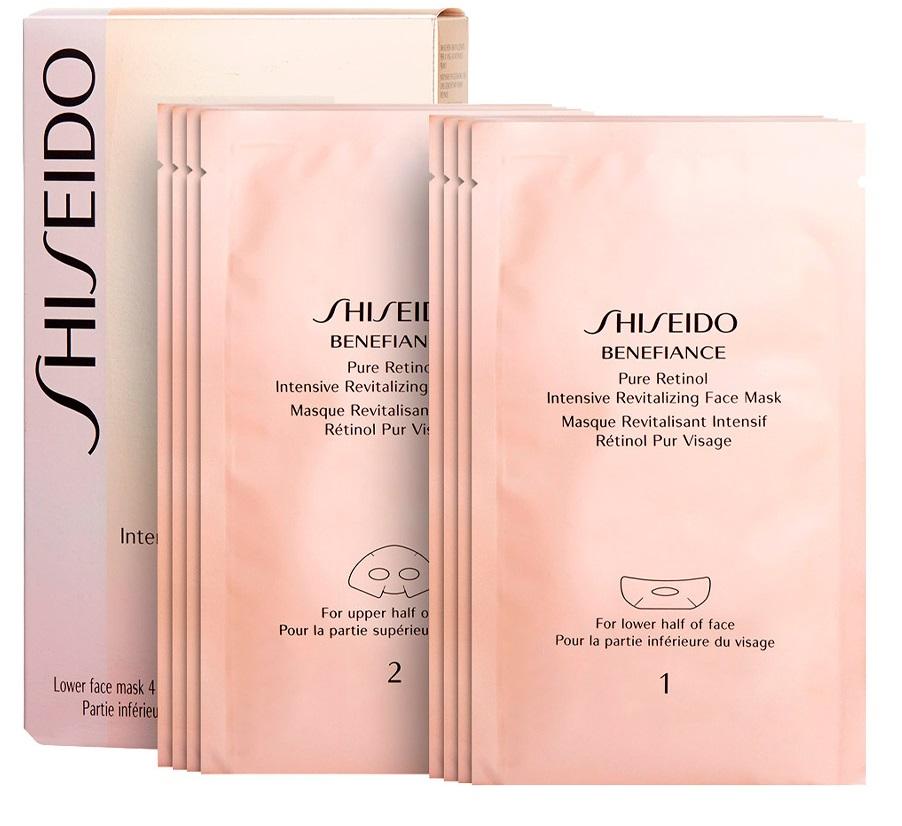 Shiseido Benefiance Pure Retinol Intensive Revitalizing Face Mask  4 unidades