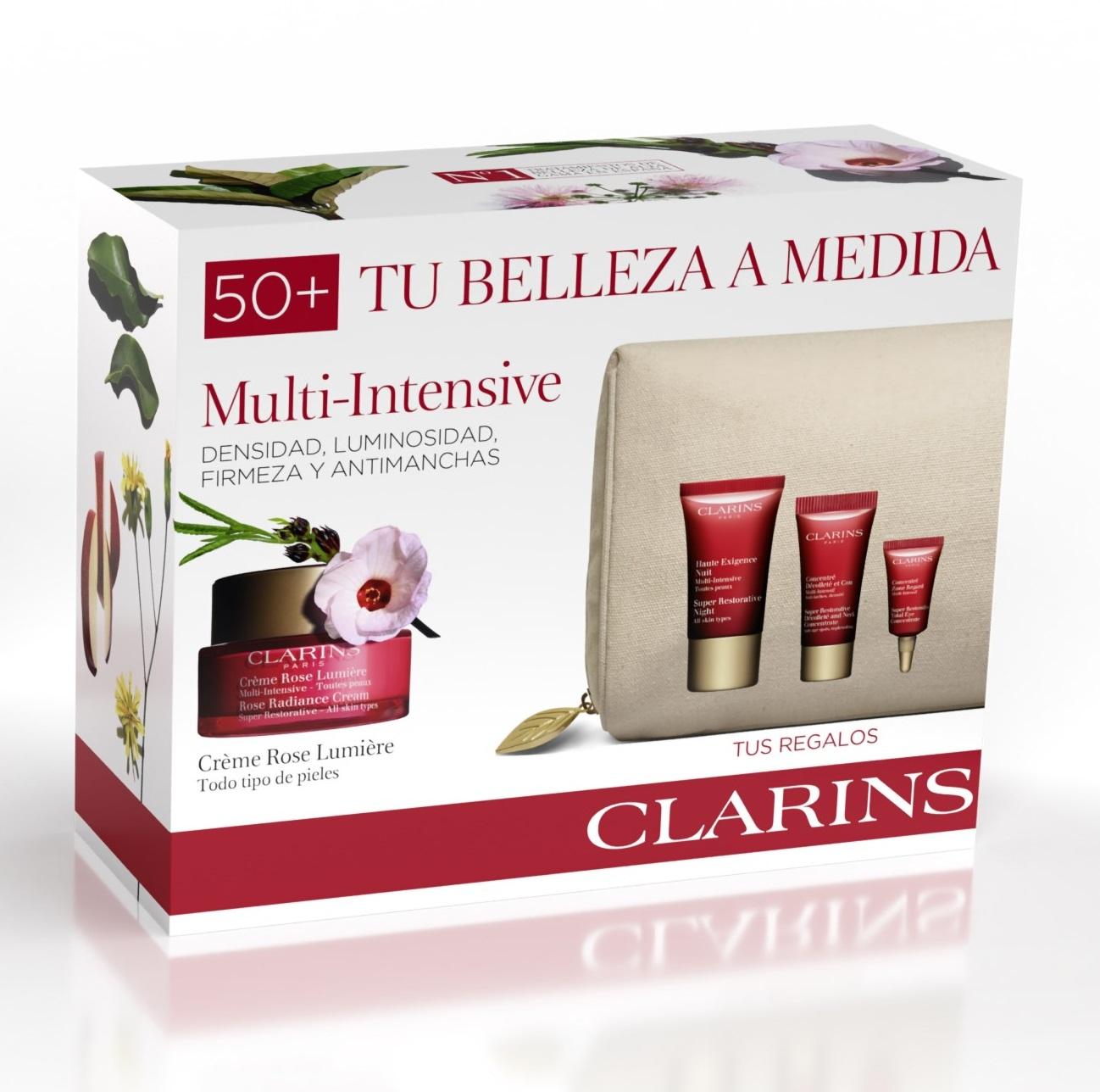 Clarins Crème Rose Lumière Estuche  Multi-Intensiva