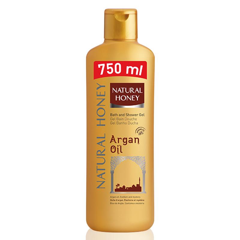 Natural Honey Gel Elixir Argán  750 ml