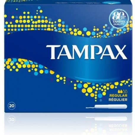Tampax Regular  Tampones 20 unidades