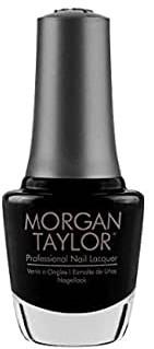 MORGAN TAYLOR PROFESSIONAL NAIL LACQUER  3110830 Black Shadow 15 ml
