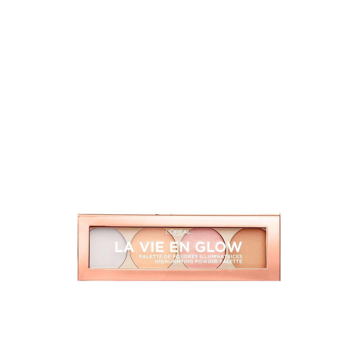 L'Oréal La Vie En Glow  Paleta de Iluminadores