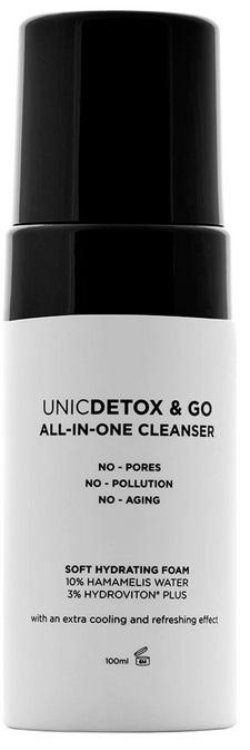 UNICSKIN UNICDETOX&GO CLEANSER FOAM  100 ML